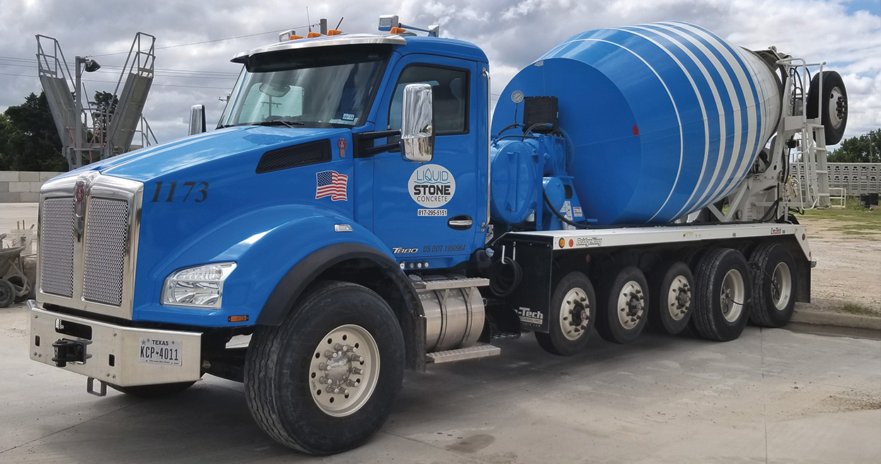 T880 is Mixer Truck of Choice