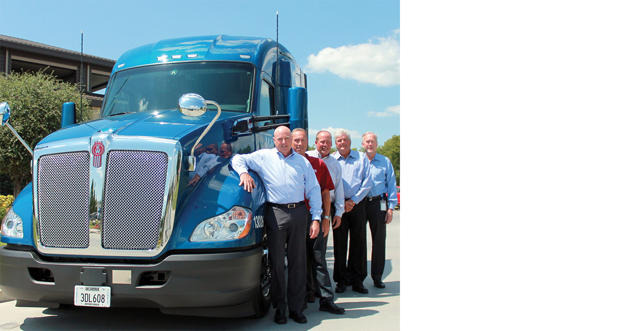 5,000th Kenworth for Melton Truck Lines