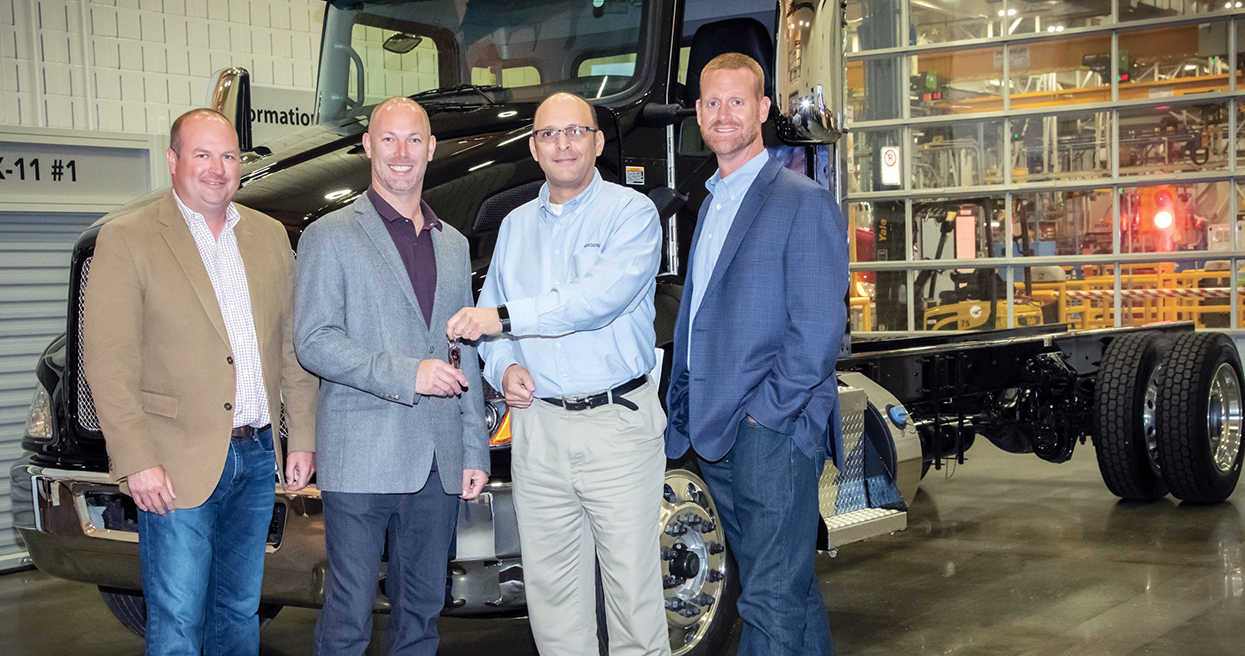 Milestone Medium Duty Truck Goes to Miller Industries