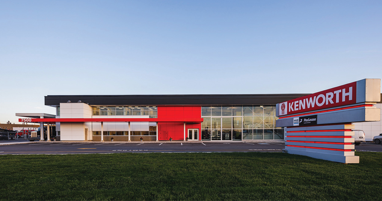Kenworth Montréal Celebrates Remodeled Dealership