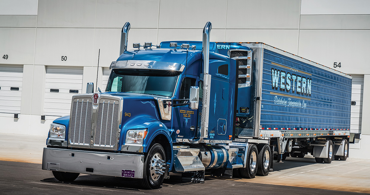 Kenworth W990 is Winning Over Western Distributing Drivers