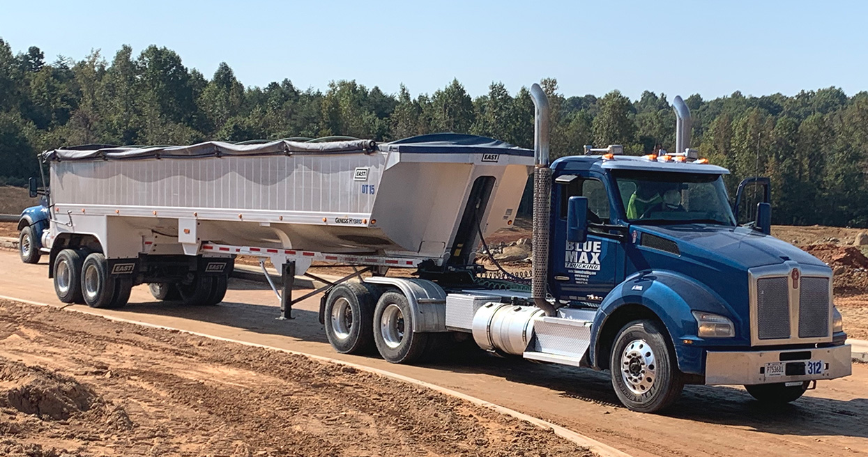 Blue Max Trucking Adds PACCAR 12-Speed Automated Transmission with Vocational Calibrations for Kenworth T880s