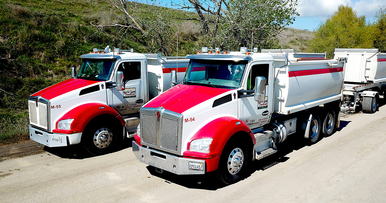 Butte Sand and Gravel Maximizes Payload with Reliable Kenworth T880s and PACCAR MX-11 Engines
