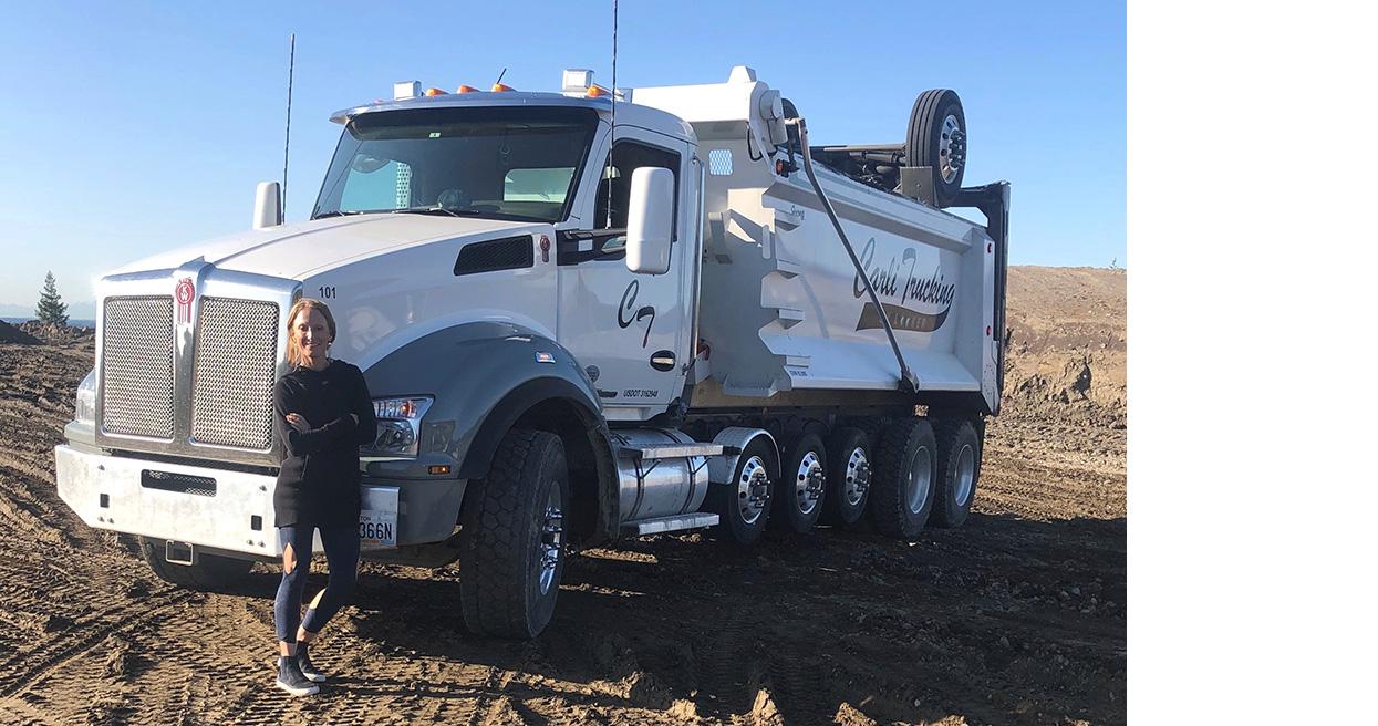Carli Trucking Builds Up Fleet with Kenworth T880S Dump Trucks