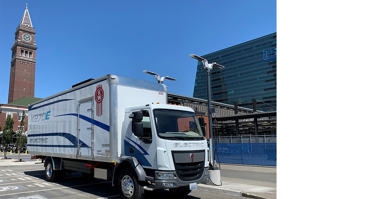 Kenworth Introduces Informative Video on New Zero-Emission K270E and K370E Battery-Electric Vehicles
