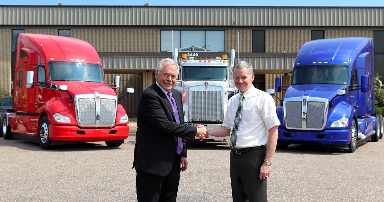 Kenworth Sales Company and Truck Enterprises, Inc. Join Forces