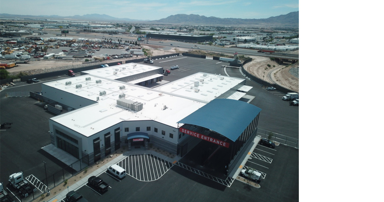 Kenworth Sales Company – Las Vegas Relocates To Newly Constructed Facility
