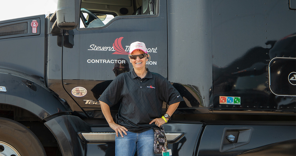 U.S. Army Veteran Gail Losee: Transition Trucking – Driving for Excellence Finalist