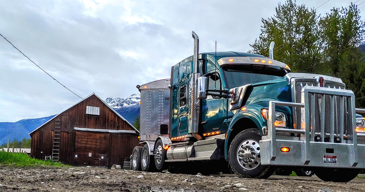 Kenworth W990 Becomes Long-Hood Truck of the Future for Pocock Trucking
