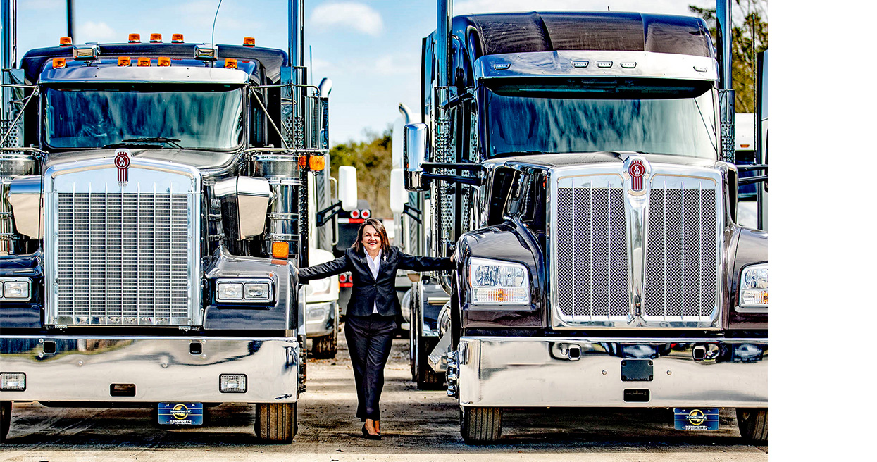 "Jodie Teuton of Kenworth of Louisiana Receives Prestigious WIT ""Influential Woman In Trucking"" Award"
