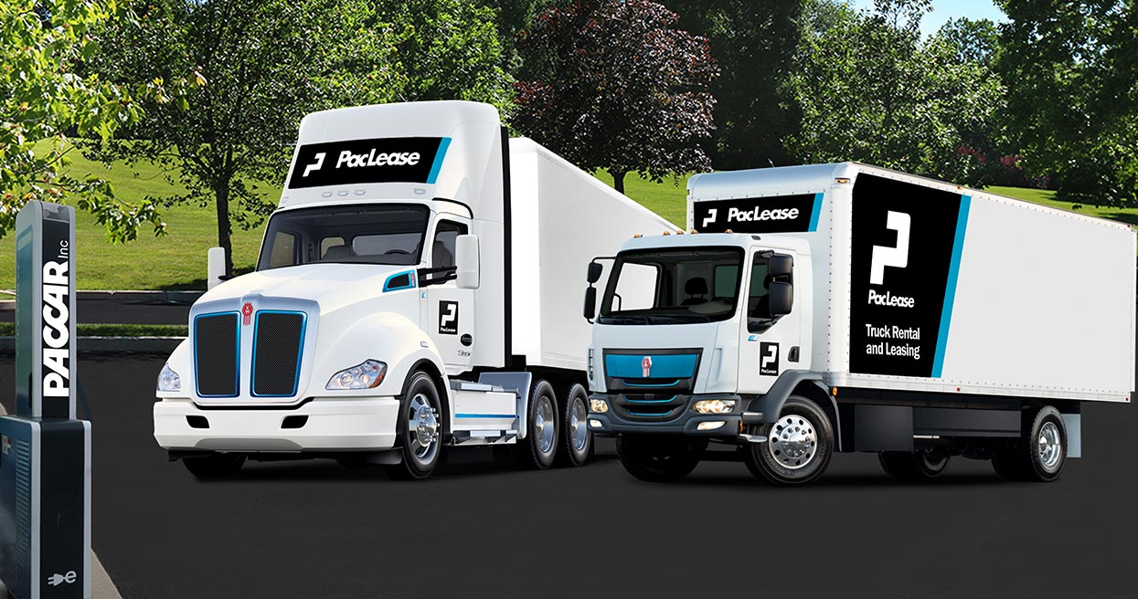 PacLease Finding High Interest in Leasing Electric Trucks Offers Kenworth Battery Electric Truck Models