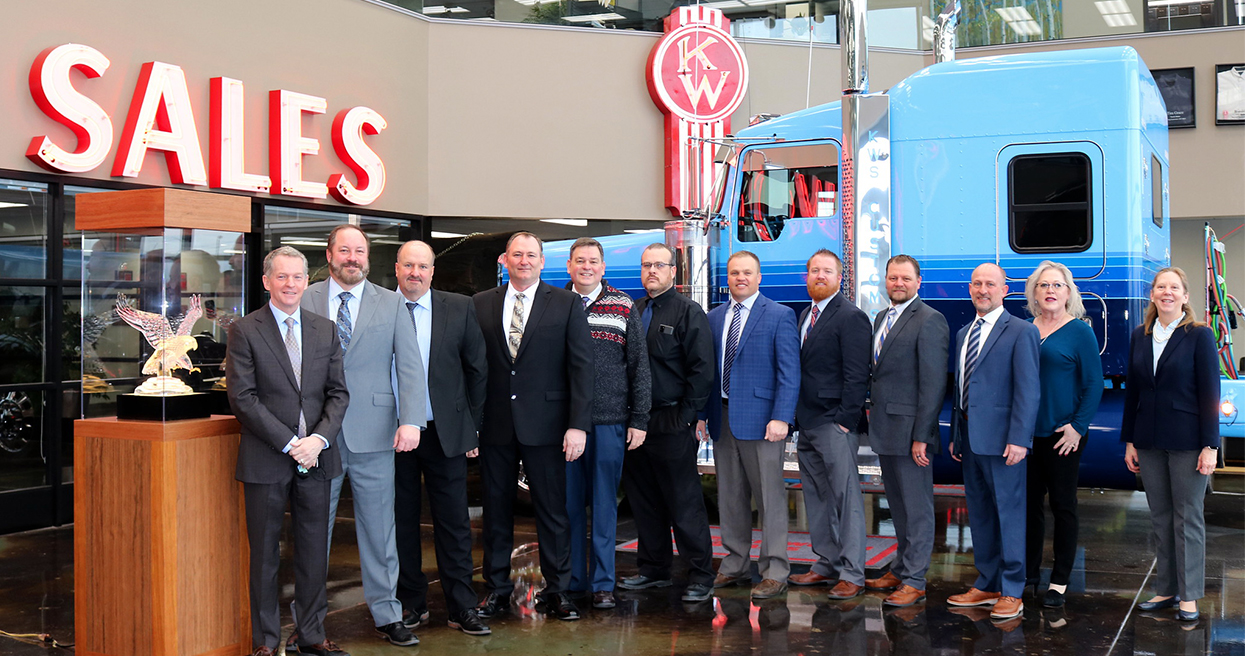 Kenworth Recognizes Leading Dealers for 2020 Achievements, Customers Support Efforts To Maximize Uptime