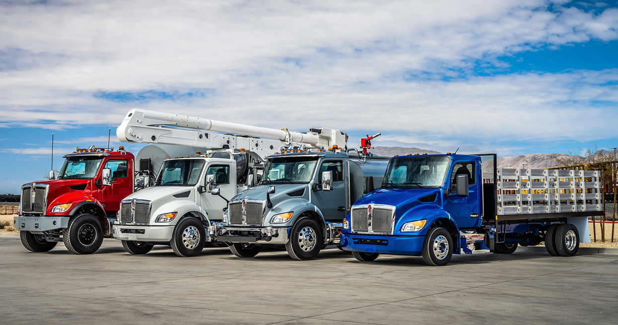 Kenworth Launches New Medium Duty Product Lineup