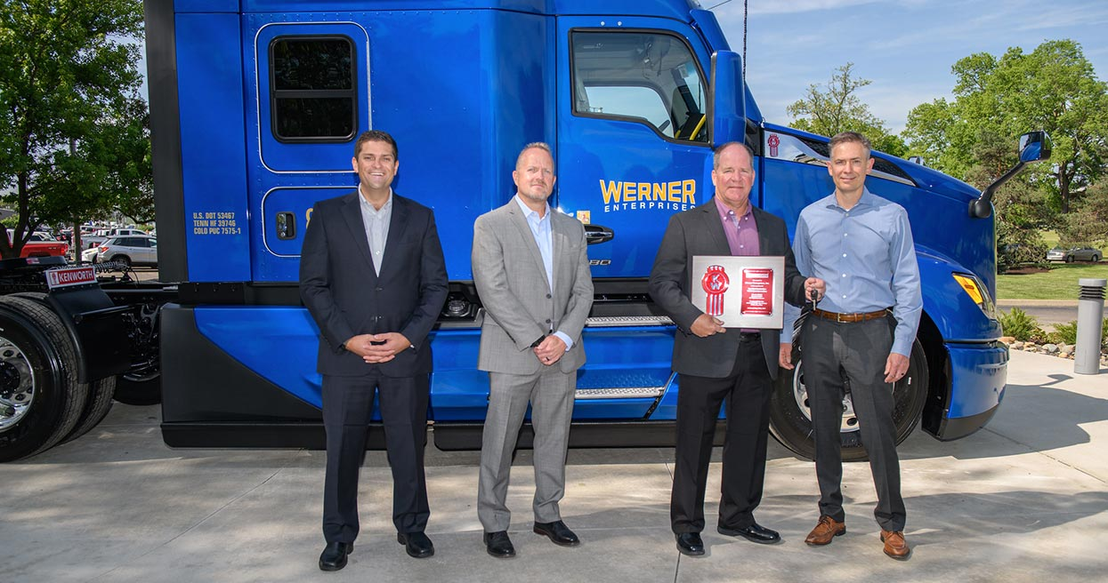 Werner Enterprises Takes Delivery of First Production Kenworth T680 Next Generation